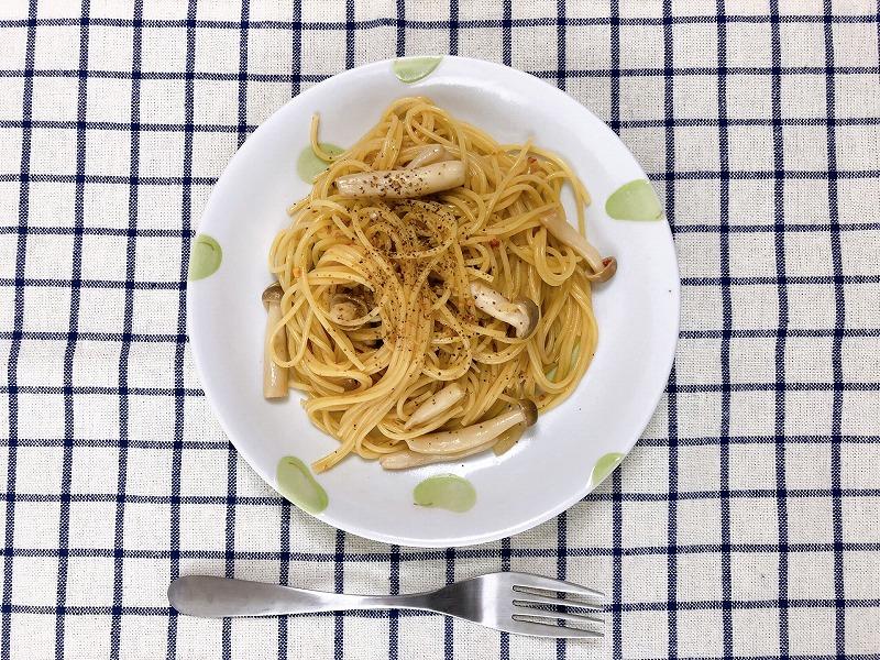 カルディ海老塩を使ったアレンジレシピ②海老塩ペペロンチーノ