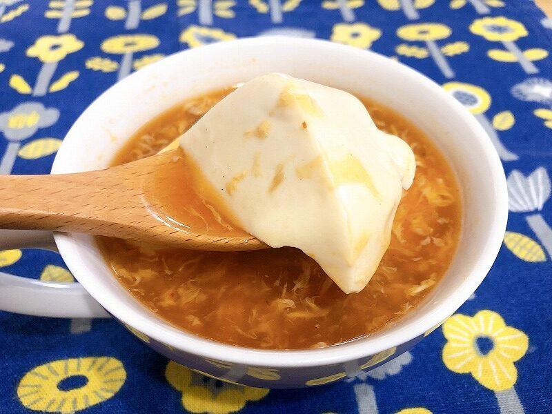 カルディサンラータンおすすめアレンジレシピ⑤豆腐